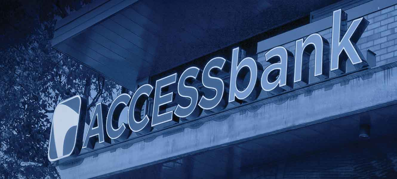 Access Bank building sign